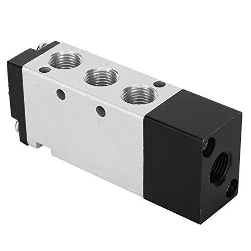 KUIDAMOS Válvula neumática Electroválvula eléctrica PT1 / 8 4A110-06