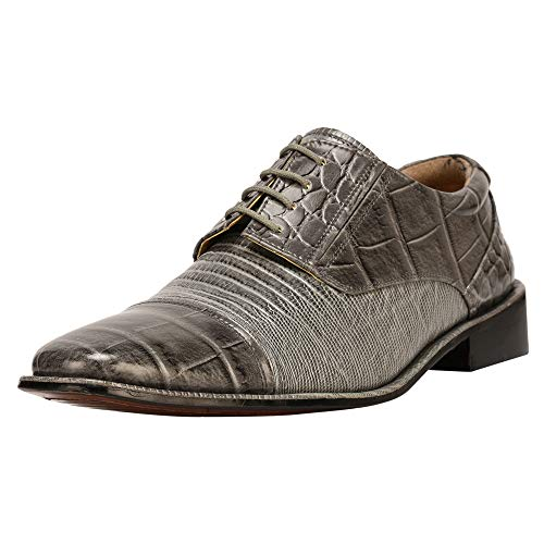 Stitched Leather Dress Shoes for Men