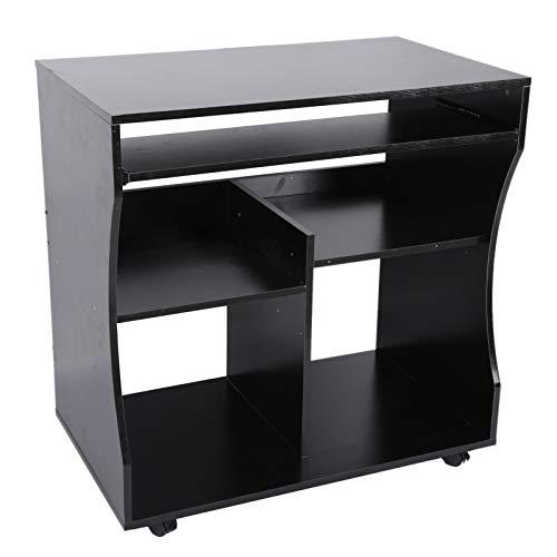 Changor Computadora Escritorio, Tablero de partículas 80 X 48 X 81cm Estructura Diseño Juego de Azar Mesa por Oficina