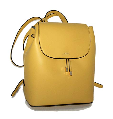 LAUREN Ralph Lauren Dryden Flap Backpack Lemon Sorbet/Alpaca One Size
