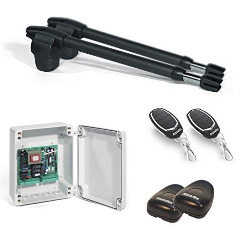Kit Completo Automatismo Motor Motorline para Puertas Batientes de 2 Hojas –...