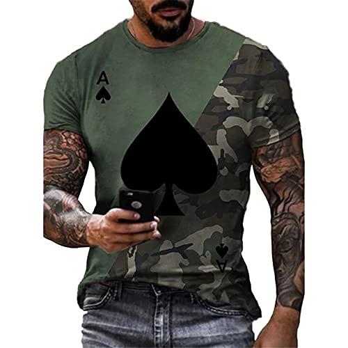 SSBZYES Camiseta para Hombre Camiseta De Manga Corta De Verano De Talla Grande Camiseta De Cuello Redondo Camiseta para Hombre Camiseta Estampada Camiseta Deportiva Camiseta De Fondo para Hombre
