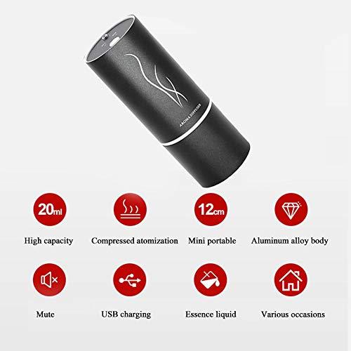 dream-cool Máquina de purificación de Aire de la máquina, esparcidor de Aceite Esencial para automóvil Mini difusor de Aroma multifunción USB Fragancia Pretty Well