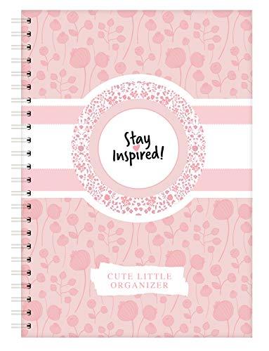 Terminplaner, Wochenplaner, Terminkalender 2021, DIN A5 Wochenkalender und Taschenplaner mit Extra-Seiten für Geburtstage, ToDo Liste, Notizen, ... ... Sticker und Box. Stay Inspired by Lisa Wirth