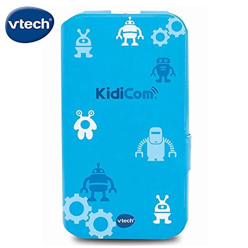 VTech- Funda Kidicom MAX, Color Azul (3480-401649)