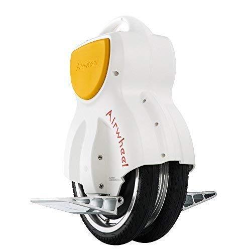 Airwheel Q1 Mini monociclo elettrico con doppia ruota per adulti e bambini (bianco)