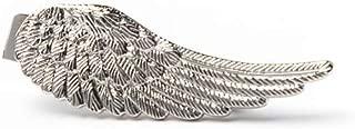 """Angel Wing"" Designer Tie Clip Conversational Novelty Men's Fashion Tie Bar (3 Colors Available)"