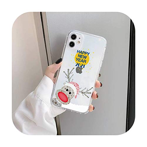 Funda transparente para iPhone 11 12 mini Pro XS MAX 8 7 6 6S Plus X 5S SE 2020 XR-a3-iPhone12 12PRO