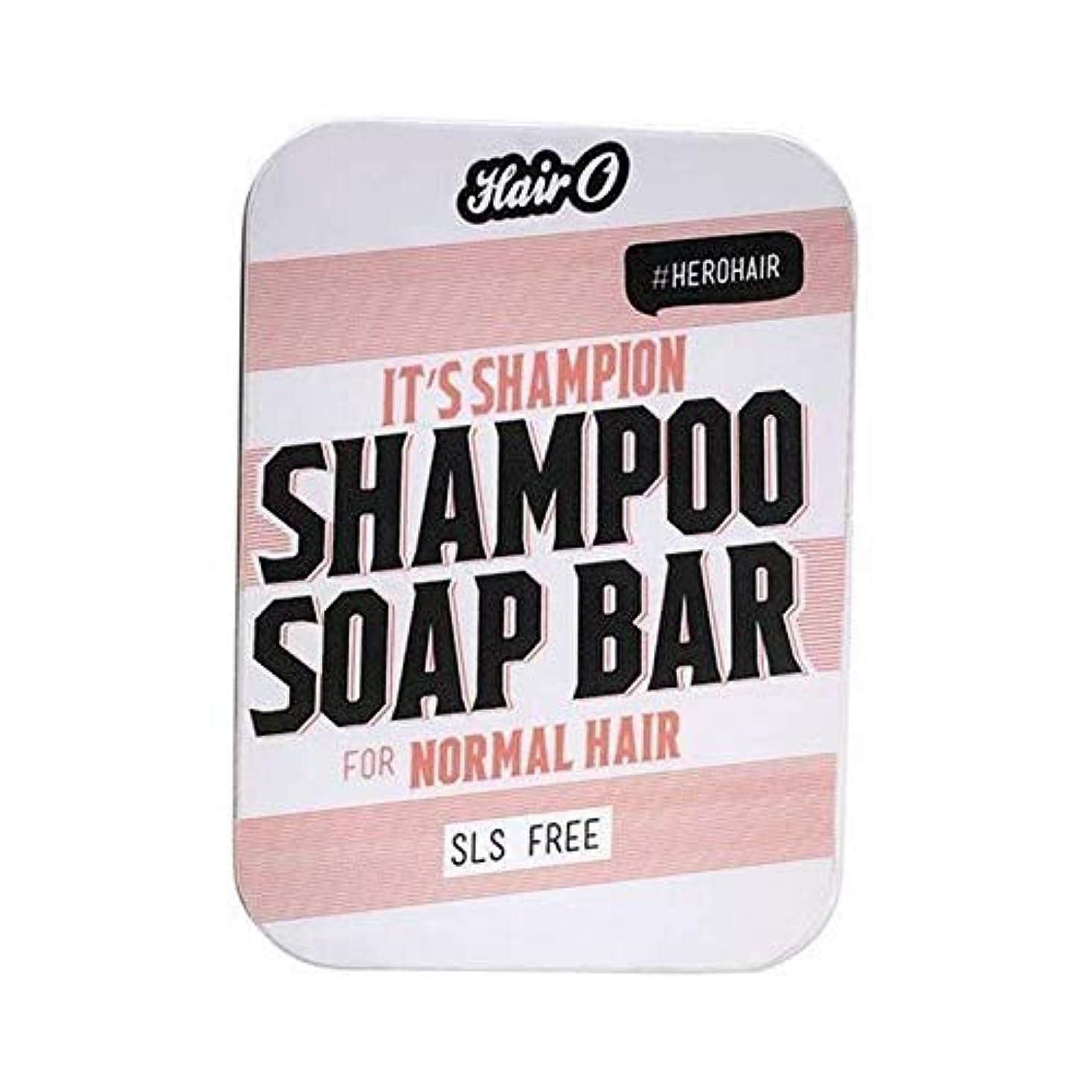 カルシウム隣接箱[Hair O ] それのShampionシャンプー石鹸バー100グラムO毛 - Hair O It's Shampion Shampoo Soap Bar 100g [並行輸入品]