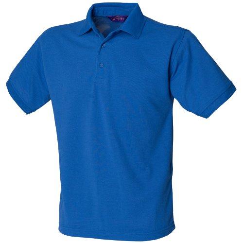 Henbury - Polo à manches courtes - Homme (L) (Bleu roi)