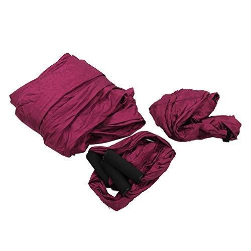 ANNING Columpio de Hamaca de Yoga aéreo Equipo de Fitness multifunción más Reciente Cinturones de Hamaca de Yoga antigravedad para Entrenamiento de Yoga Columpio de Yoga para Deporte Morado