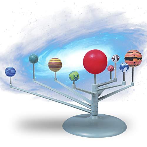 ANGGREK Astronomical Luminous Ball DIY Assembly Science Experimental Toys 9 Planets Solar System Model