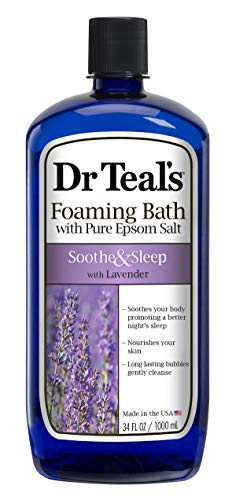 34oz Dr Teal's Foaming Bath w/ Pure Epsom Salt  $3.67 at Amazon
