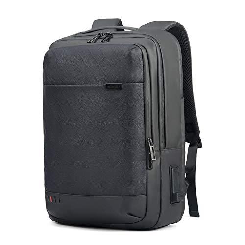 HWSJB Casual Computer Backpack, geschikt voor 15,6 inch Laptops, met USB opladen en koptelefoon poort, geschikt voor de meeste mensen te gebruiken