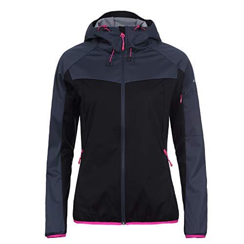 Icepeak Seana Softshell Jacket Women 54922 505 Größe 40 FB990 Black