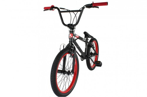 20' KHE BMX - Bike Riddick 12,2 kg Special Edition, Farbe:schwarz/rot - 2