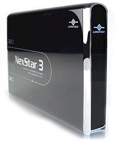 Vantec NexStar 3 NST-260U2-BK 2.5-Inch IDE to USB 2.0 External Hard Drive Enclosure (Onyx Black)