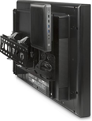 HP DSD Security wandhouder voor platte beeldschermen, 101,6 cm (40 inch), 152,4 cm (60 inch), zwart
