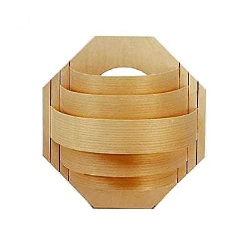 Unbekannt Infraworld Holzblendschirm Standard Saunalampe Saunalicht Saunazubehör S2256