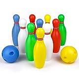 Symiu Juegos Bolos Infantiles Bowling Set Juegos ExteriorJuguetes...
