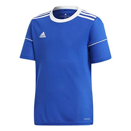 adidas Jungen T-Shirt Squad 17 JSY Y, Azufue/Blanco, 116 (5/6 años), S99151