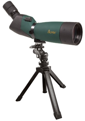 Alpen Optics 20-60x80 w/45 degree EP, Waterproof Fogproof Spotting Scope