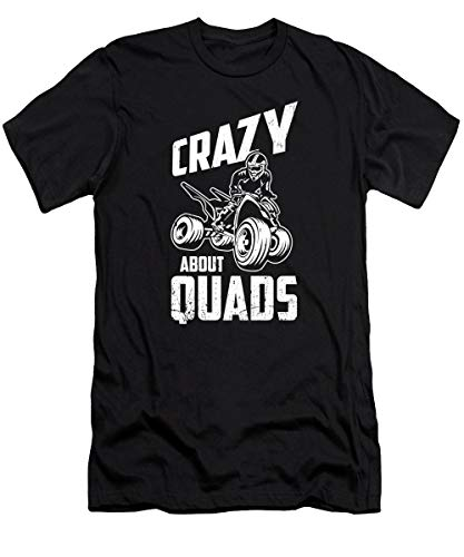 Situen Crazy About Quads Funny Qu.ad Bike ATV Gift T-Shirt