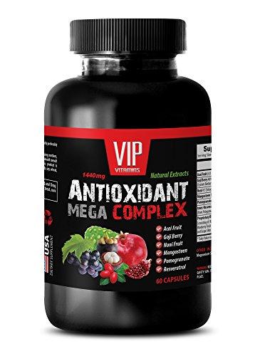 Antioxidant Supplement Vitamin  ANTIOXIDANT MEGA Complex  Goji Berry Capsules  1 Bottle 60 Capsules