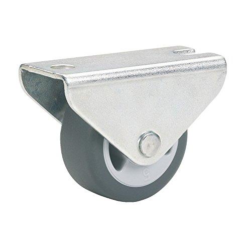 Dörner + Helmer Parkett-Bockrolle (25 x 13 mm, TPE-Rad) grau, 791322