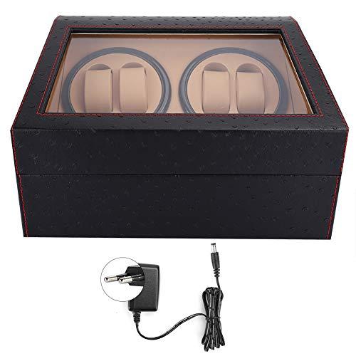 LXYFC Automático Watch Winder Caja De Winder De Reloj Automática, Caja De Almacenamiento De Pantalla De Winder De 4 + 6 Reloj Automático para Reloj Mecánico De Reloj De Pulsera