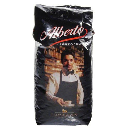 J.J. Darboven: Alberto - Espresso ganze Bohne - 1 Beutel à 1 Kg