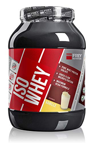 Frey Nutrition Iso Whey Vanille Dose, 1er Pack (1 x 750 g)