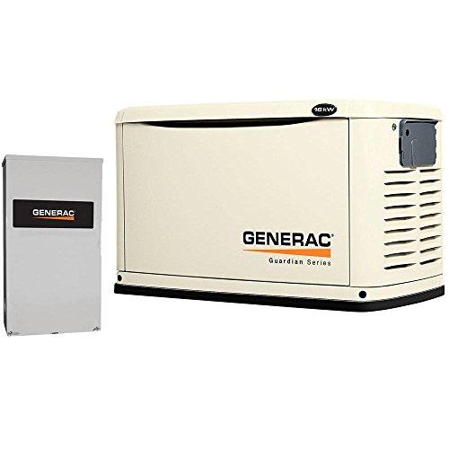 Generac 6462 Guardian Series, 16kW Air Cooled Standby Generator,...