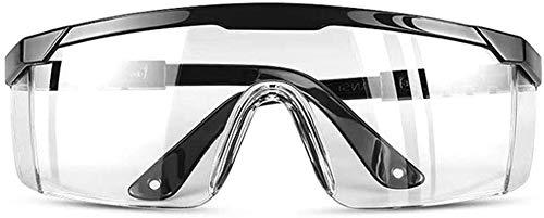 Occhiali di sicurezza con lenti antiappannanti trasparenti antiappannamento e impugnature antiscivolo, protezione UV