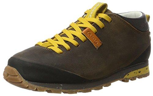 AKU Unisex-Erwachsene Bellamont FG GTX Trekking- & Wanderschuhe, Braun (Dk.Brown/Yellow), 45 EU