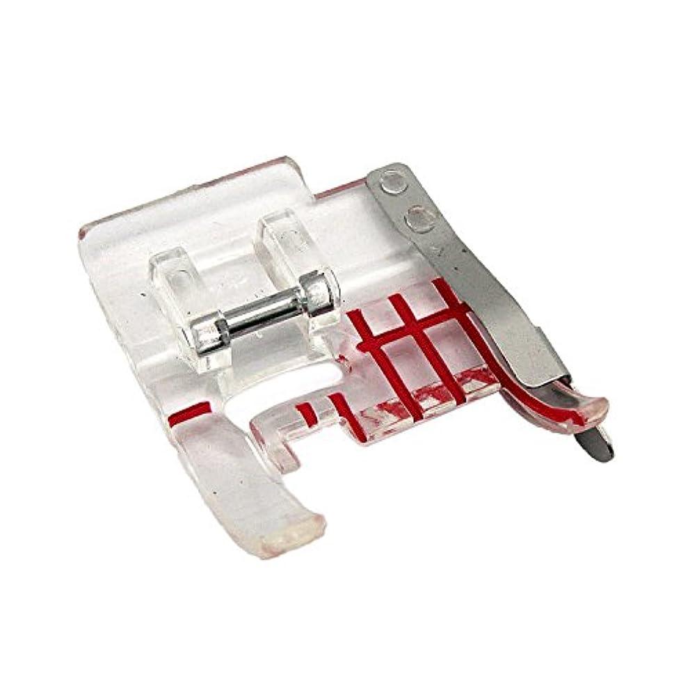 Cutex (TM) Brand Clear Seam Guide Foot #4130348-45 for Husqvarna Viking Sewing Machine