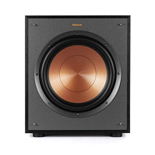 Klipsch R-100SW 150 W Negro - Subwoofer (150 W, 32-120 Hz, Negro, De plástico, Corriente alterna, CE)