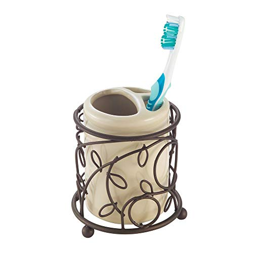 Top toothbrush holder in bronze for 2020