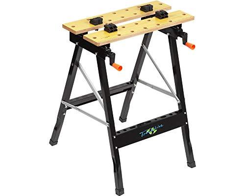 TrendLine Werk-Spanntisch klappbar 60,5 x 64 x 78 cm 100 kg Werkbank Werktisch