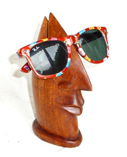 Soporte de cinta de gafas nariz zapatillas de madera hecho a mano para todos los estrechos lugar brill