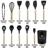 Zoom IMG-1 set utensili cucina silicone 12