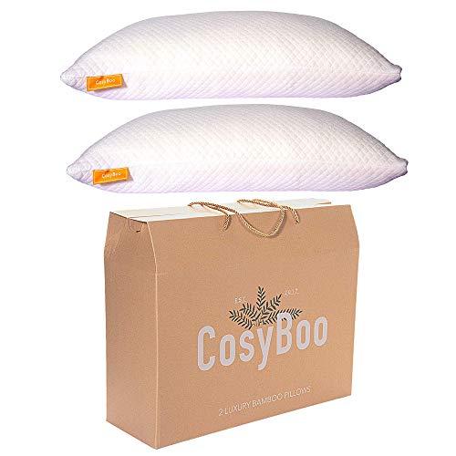 CosyBoo | 2 almohadas espuma memoria bambú lujo |