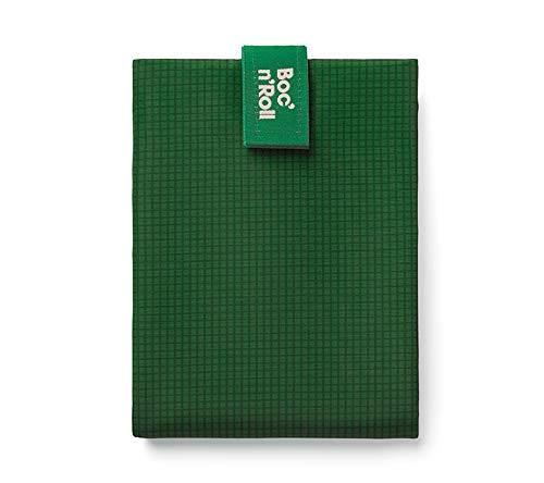 Roll'eat - Boc'n'Roll Active Bolsa Merienda Porta Bocadillos Ecológica y Reutilizable sin BPA, Verde