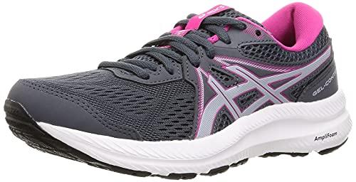 Asics Gel-Contend 7, Zapatillas para Correr Mujer, Carrier Grey/Piedmont Grey, 39 EU