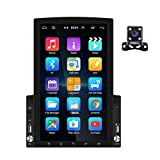 Android Double DIN AutoRadio GPS 9.7'' verticale touchscreen Giocatore d'auto Bluetooth Ra...