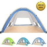 Best Beach Shelters - Venustas Large Pop Up Beach Tent Beach Umbrella Review