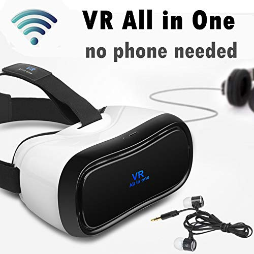 %61 OFF! VR All in One Headset w/WiFi HDMI 360° 3D Viewer