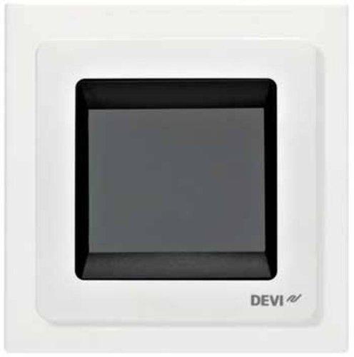 DEVI Thermostat für Raum und Fußbodenheizungen 140F1065