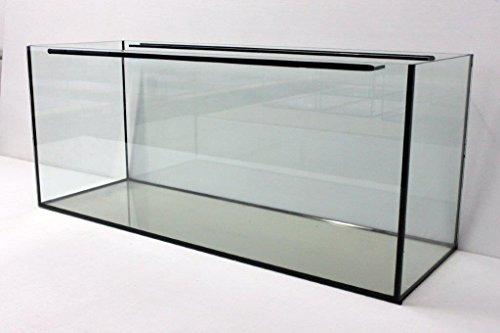 Aquarium glazen wastafel 100x50x50 cm, rechthoekig, 250 liter bekken