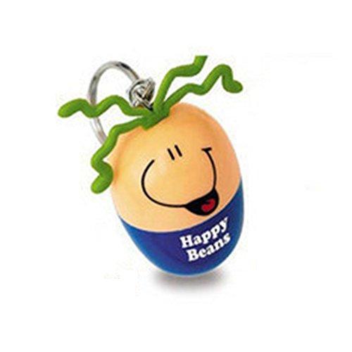 rongweiwang Emoción súper Pluma de la Cara Sonriente de Creativa Pluma de Huevo retráctil Bolígrafo Llavero